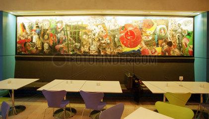 Berlin  Deutschland  Kunst im Reichstag