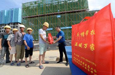 CHINA-JIANGXI-HEAT-WORKERS (CN)
