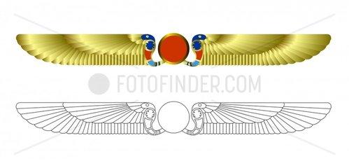 Schlange snake Uraeus Aegypten Egypt aegyptisch egyptian