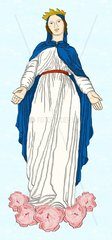 Muttergottes Jungfrau Maria Virgin Mother Mary