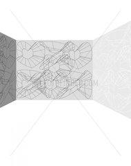 Raum / Hintergrund Grautoene 1