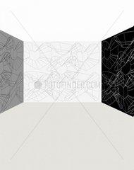 Raum/Hintergrund Grautoene 4