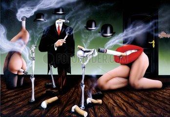 Raucherkabinet Surrealismus