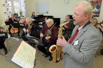 Flensburg  Deutschland  Musikschule Flensburg  Vorfuehrung eines Orchesters