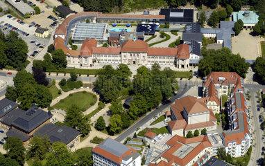 Bad Elster  Deutschland  Luftbild von Bad Elster im Vogtland