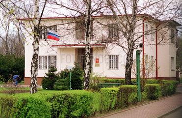das russische Konsulat in Poznan (Polen)