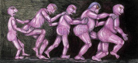 Allegorie Das Laster Allegory Vices