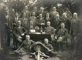 """Kegelclub žFidele Brueder""""  Niedersachsen  1920"""