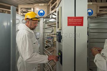 Brunsbuettel  Deutschland  KKB Kernkraftwerk Brunsbuettel