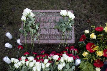 Opfern des Stalinismus  Luxemburg-Liebknecht - Gedenkveranstaltung