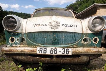 Polizei-Trabant