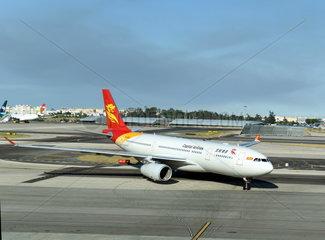 PORTUGAL-LISBON-CHINA-FIRST DIRECT FLIGHT