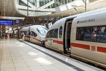 Intercity Express Zug der Deutschen Bahn