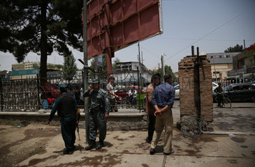 AFGHANISTAN-KABUL-WOULD-BE-SUICIDE ATTACKER-SHOT