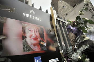 FRANCE - PARIS - MIREILLE KNOLL MEMORY