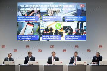Deutsche Bahn press conference