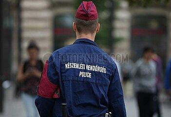 Ungarische Polizei