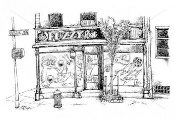 Fuzzy Pint Monster Pub