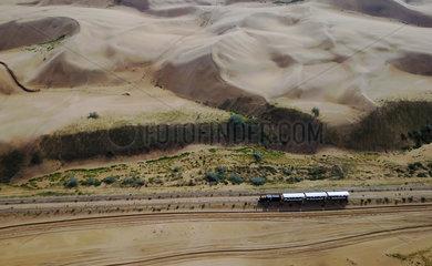 CHINA-INNER MONGOLIA-ORDOS-DESERT TOURISM (CN)