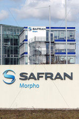 Flintbek  Deutschland  Firmengebaeude der Morpho Cards GmbH