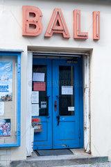 Berlin  Deutschland  Eingang des Kino Bali in Berlin-Zehlendorf