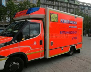 Rettungswagen in Hamburg