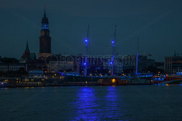 Blue Port - Hamburg harbour