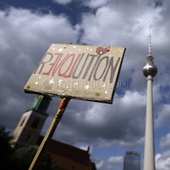 Berlin Occupy Demonstration