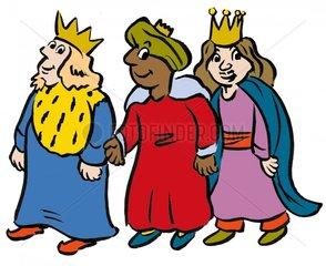 Heilige drei Koenige