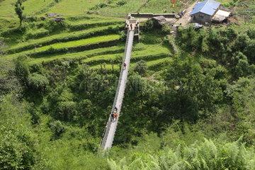 NEPAL-KASKI-ANNAPURNA REGION-TOURISM