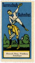 Werbung fuer Turnschuhe  1912