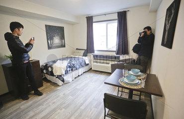 CANADA-VANCOUVER-TEMPORARY MODULAR HOUSE UNIT