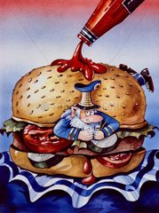 Comix - Ein echter Hamburger