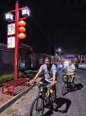 CHINA-BEIJING-COUNTRYSIDE-NIGHT LIFE (CN)