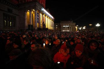 POLAND-WARSAW-SILENT MARCH