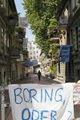 G20 : Protest im Karolinenviertel