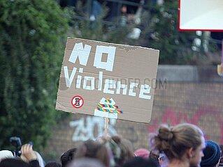 Anti-G20-Protest in Hamburg