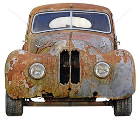 verrosteter Oldtimer  BMW  1935