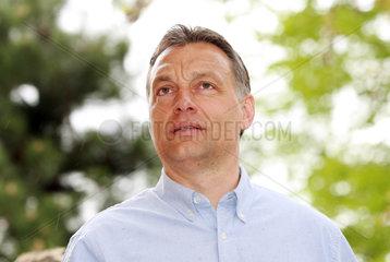 Dunakeszi  Ungarn  Viktor Orban  Fidesz
