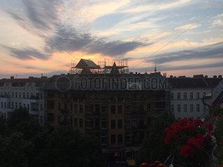 Dachausbau in Berlin
