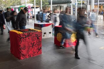 AUSTRALIA-MELBOURNE-ANTI TERROR BOLLARDS