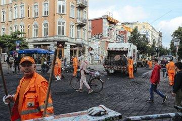 Verwuestetes Schanzenviertel nach G20 Krawallnacht