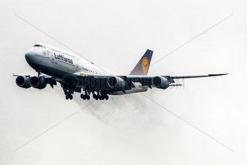 D-ABYA Lufthansa Boeing 747-830  Brandenburg