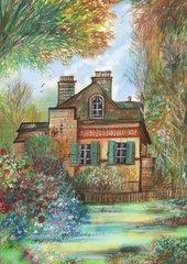 Romantisches Haus im Gruenen