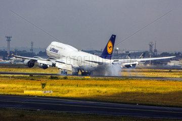D-ABYQ Lufthansa Boeing 747-830  Schleswig-Holstein