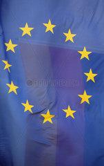 Schweigen-Rechtenbach  Deutschland  Europafahne