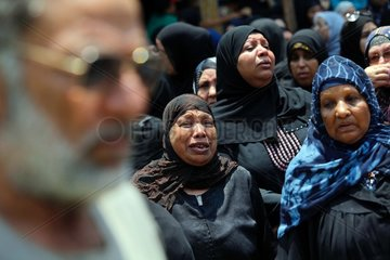 EGYPT-QALYUBIA-TERRORIST ATTACK-FUNERAL