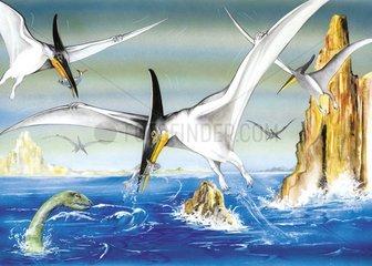 Flugdinosaurier