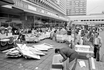 Umbau des Centrum-Kaufhauses