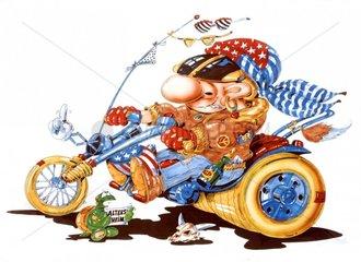 Amerikanischer Superbiker